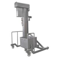 Колонные подъемники-загрузчики для 200 л. тележек